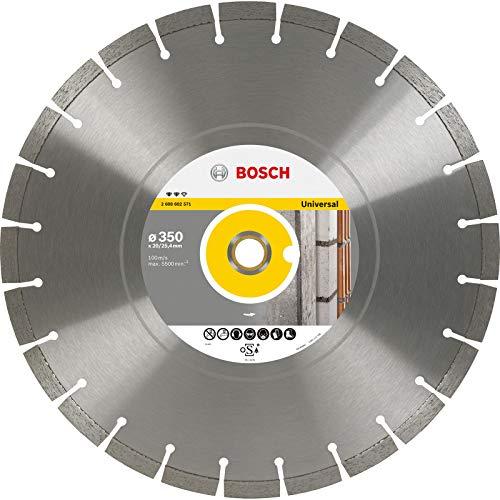 Bosch Professional Diamanttrennscheibe Expert für Universal, 450 x 25,40 x 3,6 x 12 mm, 2608602573