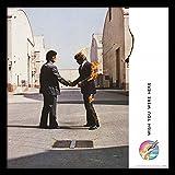 Pink Floyd Wish You were Here - Álbum de fotos enmarcado (30,5 cm, madera, 32 x 32 x 1,5 cm), diseño de flores, multicolor