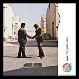 Pink Floyd Wish You were Here - Lámina enmarcada (30,5 cm, madera, multicolor, 32 x 32 x ...