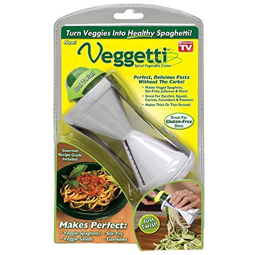 Veggetti Spiral Vegetable Slicer, Makes Veggie Pasta