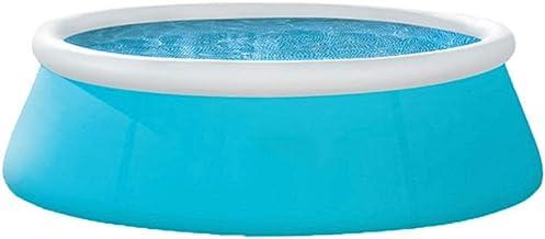 Piscinas Hinchables, Fast Set Piscina-azul-183 × 51 Cm / 244 × 76 Cm (Size : 183×51cm)