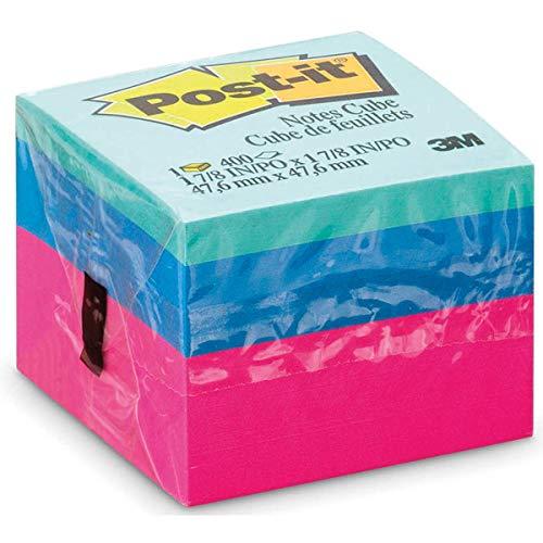 Bloco de Notas Adesivas Post-it Cubo Ultra - 400 folhas