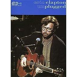 Eric Clapton: Unplugged E-Z Play Guitar. Partitions pour Tablature Guitare(Boîtes d\'Accord)
