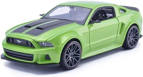 KaKaDz Wei KKD Simulation Ford Mustang GT rue Racing Alliage Modèle De Voiture Jouet Modèle De Voiture Collection Cadeau Décoration Simulation Véhicule