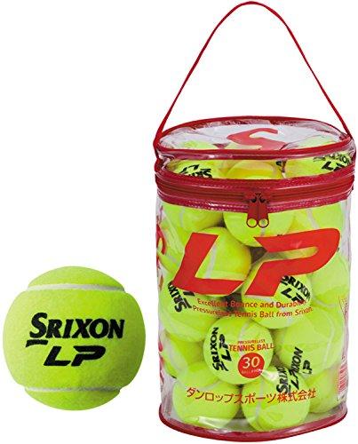 SRIXON(スリクソン)プレッシャーレステニスボールスリクソンLP(30ヶ入り)SLP30BAG