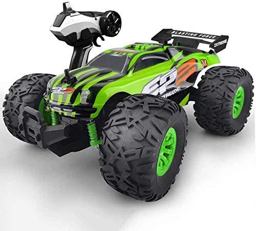 yanzz Coche de Juguete RC, súper vehículo de Alta Velocidad, Coche de Acrobacias para niños, camión Monstruo de Control Remoto con vehículo controlado por Radio de 2,4 GHz, Coche de Control Remoto