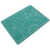 Milisten - Tappetino da taglio professionale in PVC autobloccante per progetti artistici di trapunta, cucito, artigianato, scrapbooking, colore: verde