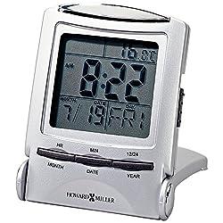 MIL645358 - Howard Miller Travel Alarm Clock