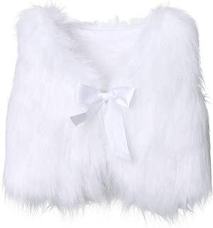 Best baby white fur vest Reviews