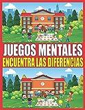 Juegos Mentales: Encuentra las diferencias para niños niñas y niños | 4-8 años ilustraciones a...
