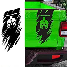 2pc 22-60 BIG Claw Decal Sticker for Truck Van semi truckers or trailers multi color or reflective