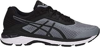 ASICS Men's GT-2000 6 Running Shoe, Stone Grey/Black/White, 11.5 XW US