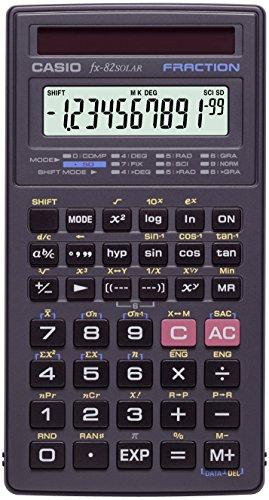 Casio rekenmachine Schoolrekenmachine. zwart