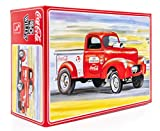 AMT 1940 Willy's Coca-Cola Pickup Gasser - 1/25 Scale Pickup Truck Model Kit - Buildable Vintage Vehicle for Kids and Adults