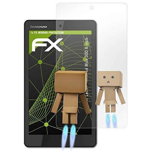 atFolix Bildschirmfolie kompatibel mit Lenovo IdeaPad Miix 300 8 inch Spiegelfolie, Spiegeleffekt FX Schutzfolie