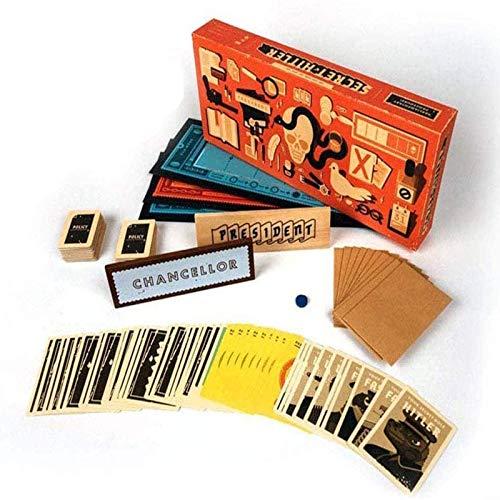 GRXIN Geheimes Hitler-Brettspiel Anti-Mensch-Karte Geheimes Hitler-Puzzlespiel EIN Verstecktes Ausweisspiel Für Party-Familie Und Freunde
