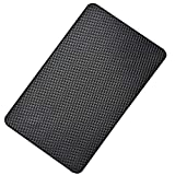 Hulless 10.6 x 5.9 Inch Super Sticky Car Dashboard Anti Slip Mat Magic Anti Slip Mat Car Dashboard Sticky Pad Adhesive Mat for Cell Phone, CD, Electronic Devices, Keys, Sunglasses, etc, 1 Pcs