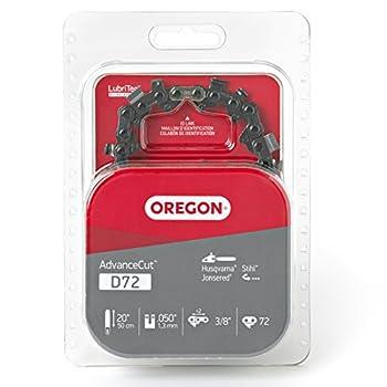 Oregon D72 AdvanceCut 20-Inch Chainsaw Chain Fits Husqvarna Remington Makita Stihl and Others Size  20 inches grey