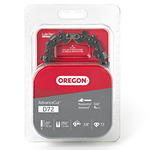 Oregon D72 AdvanceCut Chainsaw Chain for 20-Inch Bar; Fits Stihl 026, 029, MS 290, MS 291, MS 391,...