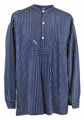 modAS Fischerhemd Original breit gestreift, Damen 52 = Herren 58