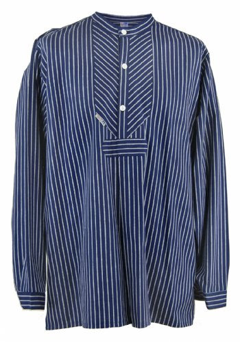 modAS Fischerhemd Original breit gestreift, Damen 48 = Herren 54