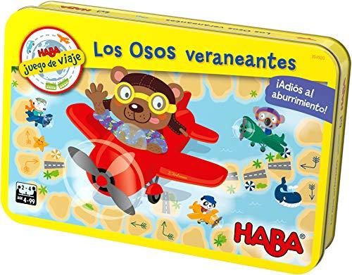HABA- Juego Mesa, Los Osos Veraneantes, Multicolor