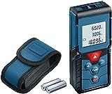 Laser-Entfernungsmesser GLM 40 (Flächen-/Volumenberechnung, maximaler Messbereich: 40 m, 2x 1,5 V...