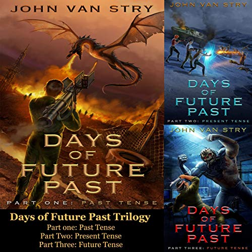 Days of Future Past: 3 Book Series audiobook cover art