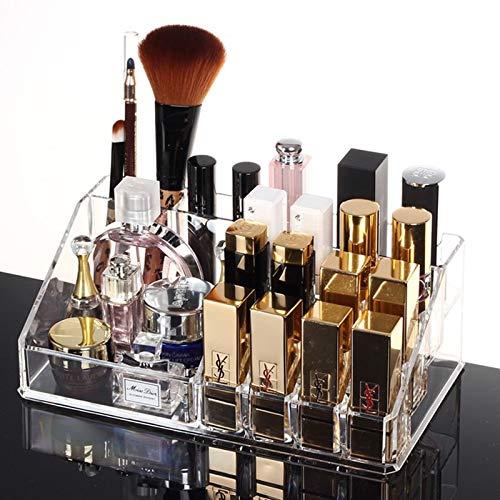 Lippenstift Schöne Organizer Box in Gittern, Kosmetik Aufbewahrungsbox, Make-up Schöne Organizer Box, Pinsel, Augenbraue, Display, Acryl-Plastikbox, Desktop-Finish
