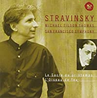 STRAVINSKY: THE RITE OF SPRING, FIREBIRD(remaster) by SAN FRANCISCO SYMPHONY ORCHESTRA MICHAEL TILSON THOMAS (2007-11-07)