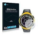 Savvies 6X Schutzfolie kompatibel mit Suunto Vector Yellow Bildschirmschutz-Folie Ultra-transparent