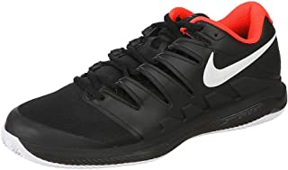 Air Zoom Vapor X Cly Mens Sneakers AA8021-016, Black/White-Bright Crimson, Size US 12