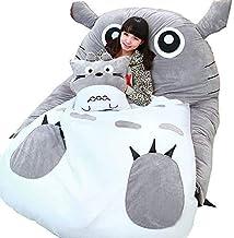 Tatami Mattress Mats Cartoon Plush Totoro Lazy Sofa Bed Anime Beanbag Mattress for Children Creative Dormitory Mattress Fo...