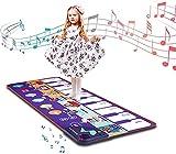Tapetes De Baile, Tapetes De Piano Para Piano Para Niños, Manta Para Pies De Instrumentos Musicales Para Niños, Juguetes Navideños Para Niños Y Niñas