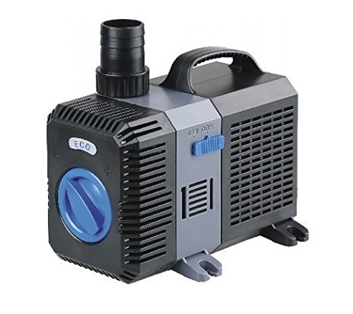 CTP-6000 Aquarium & Teichpumpe 40 Watt Eco Motor 6000 l/h Förderpumpe, Pumpe, Aquariumpumpe GERINGER STROMVERBRAUCH!