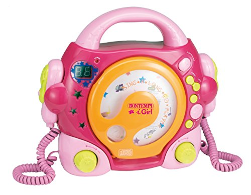 Bontempi – 439971 – muziekinstrument – CD-speler – roze
