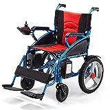 XQY Medizinischer Reha-Stuhl, Rollstuhl, Zusammenklappbarer Elektrischer Rollstuhl, Sitzbreite 45 Cm, 12-Ah-Lithium-Batterie-Mobilitätsstuhl, Motorisierte Rollstühle -