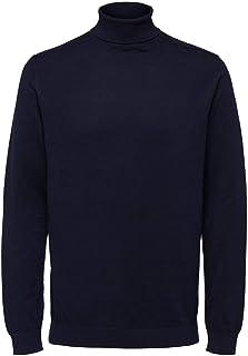 Selected Men's Slhberg Roll Neck B Noos Sweatshirt