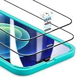 ESR Pellicola Armorite Compatibile con iPhone 12 Mini, in Vetro Temperato Ultra Resistente con Protezione per l'Altoparlante, 2 Pezzi
