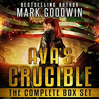 Ava's Crucible audiobook cover art