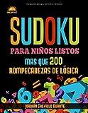 Sudoku Para Niños Listos: Más Que 200 Rompecabezas De Lógica