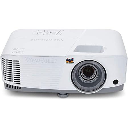 ViewSonic 3800 Lumens WXGA High Brightness Projector for Home and Office with HDMI Vertical Keystone (PA503W) , White