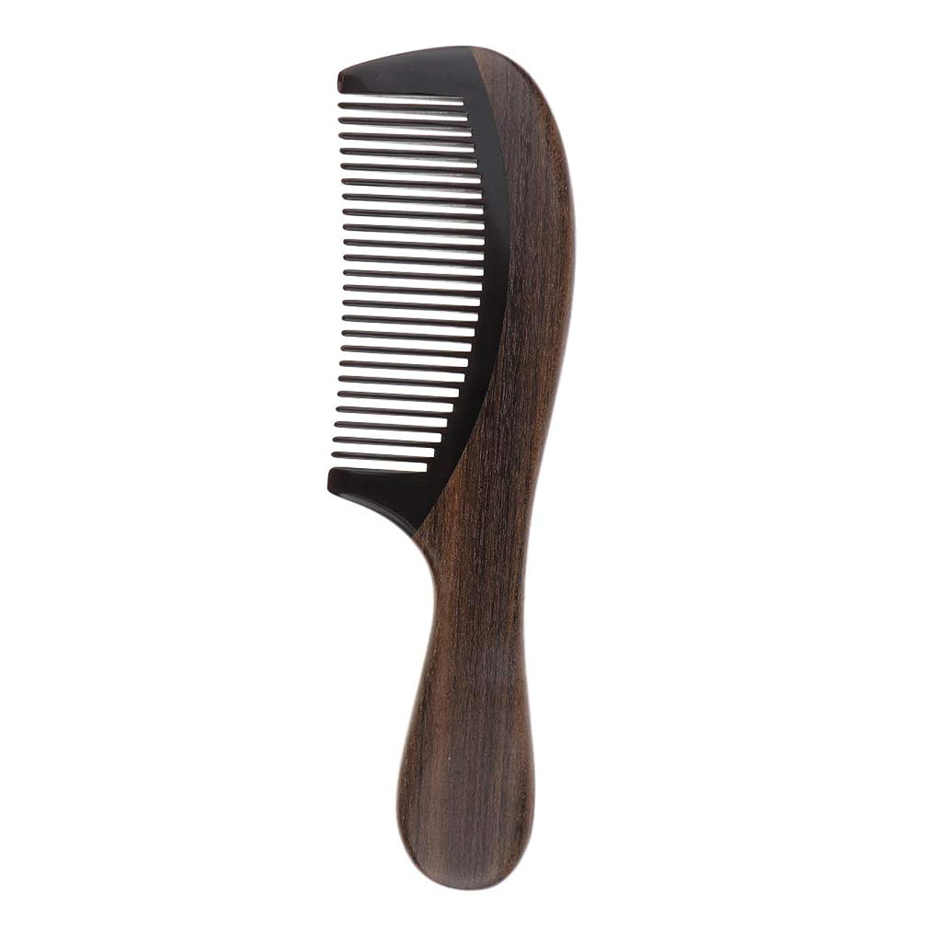 王位疫病財政CUTICATE 櫛 木製 くし コーム 木製ヘアコーム 頭皮マッサージ くし 静電気防止 頭 美髪ケア サンダルウッド