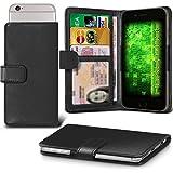 Fone-Case (Black) Archos 50f Helium Case Clamp Style Wallet