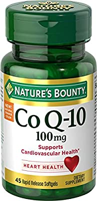 Nature's Bounty CoQ-10 Supplements