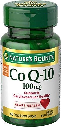 Nature's Bounty CoQ10, Rapid Release Softgels, 45 Count