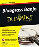 Bluegrass Banjo for Dummies: Book + Online Video & Audio Instruction