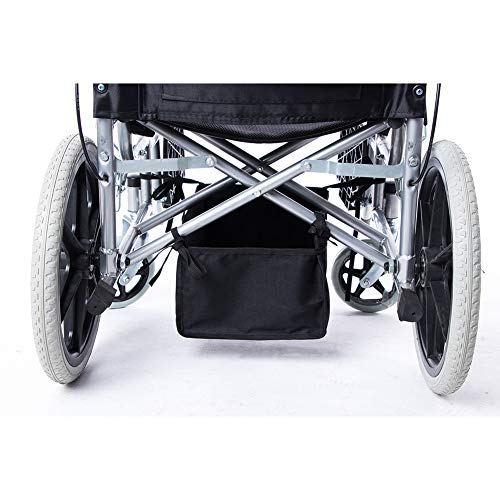TUYU Rollstuhl-Korb, Rollator-Tasche für 4 Rollstühle, abnehmbare Rollstuhl-Aufbewahrungstasche für behinderte Senioren, 33 cm lang x 22,9 cm breit x 15 cm hoch, TYDB363