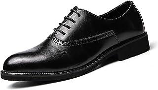 [HYF] ビジネスシューズ メンズ レザー 結婚式 靴 紳士靴 滑り止め 耐摩耗 男性革靴