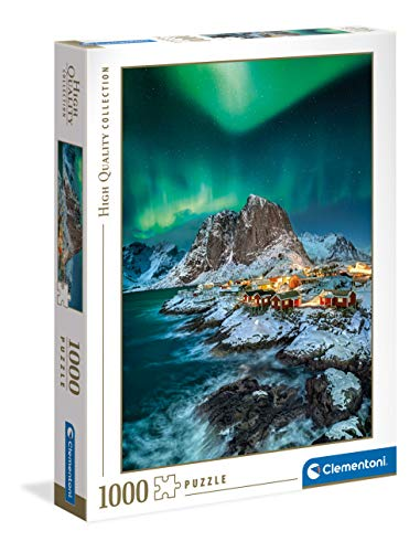 Clementoni Collection-Lofoten Islands-Puzzle Adulti 1000 Pezzi, Made in Italy,...